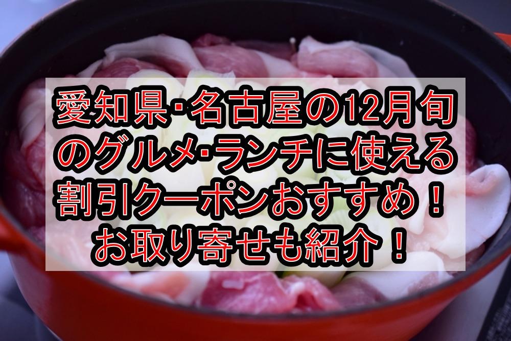 群馬県の12月旬のグルメ(食べ物)に使える割引クーポン・食事券おすすめ!お取り寄せも紹介!