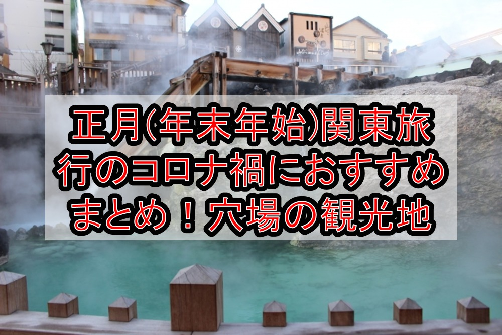 正月(年末年始)関東旅行のコロナ禍におすすめまとめ!穴場の観光地やGoToトラベルで割引する方法!