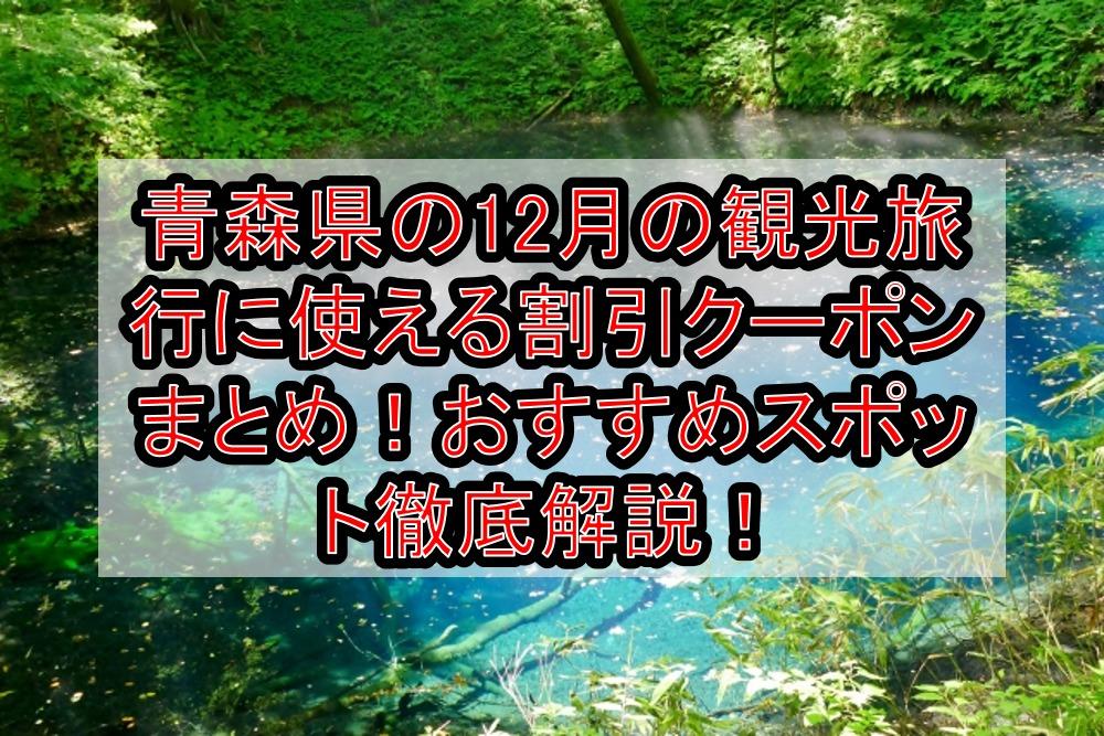 青森県の12月の観光旅行に使える割引クーポンまとめ!おすすめスポット徹底解説!【日本旅行など】