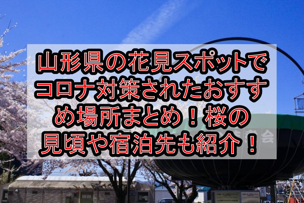 山形県の花見スポットでコロナ対策されたおすすめ場所まとめ!桜の見頃や宿泊先も紹介!【2021最新】