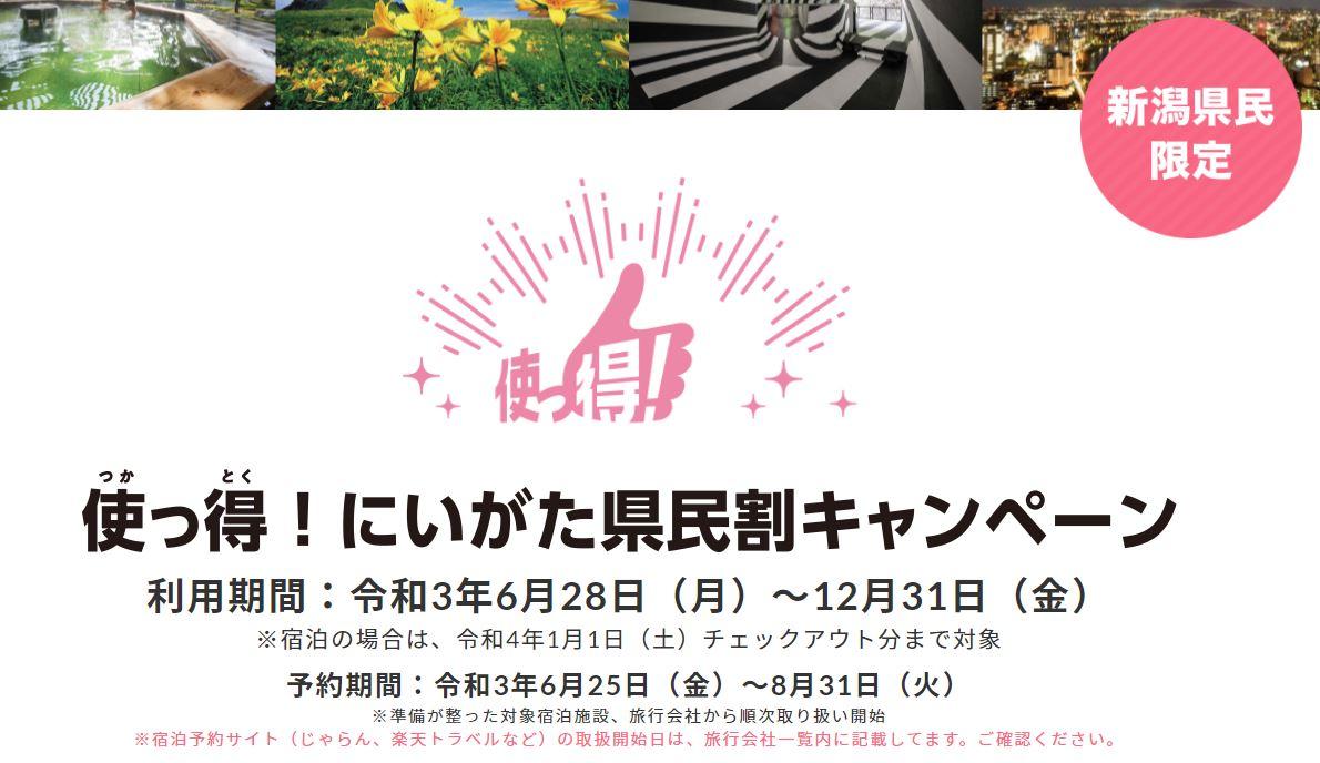 新潟 地域観光事業支援