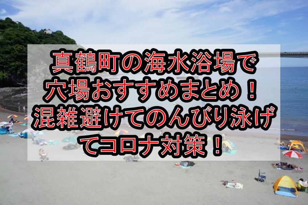 真鶴町の海水浴場で穴場おすすめまとめ!混雑避けてのんびり泳げてコロナ対策!