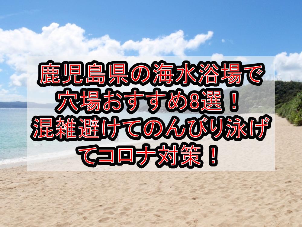 鹿児島県の海水浴場で穴場おすすめ8選!混雑避けてのんびり泳げてコロナ対策!